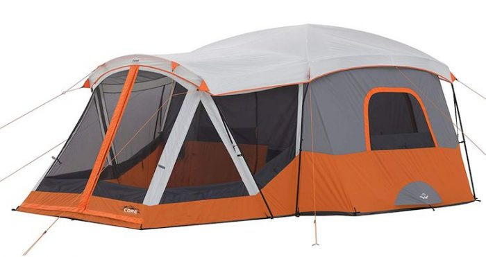 Best 10 Person Tent - CORE 11 Person Family Cabin Tent with Screen Room