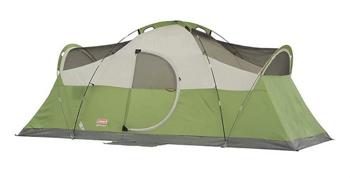 Best 8 Person Tents - Coleman Elite Montana Tent