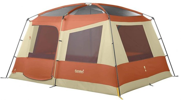 Best 8 Person Tents - Eureka Copper Canyon Three-Season Camping Tent