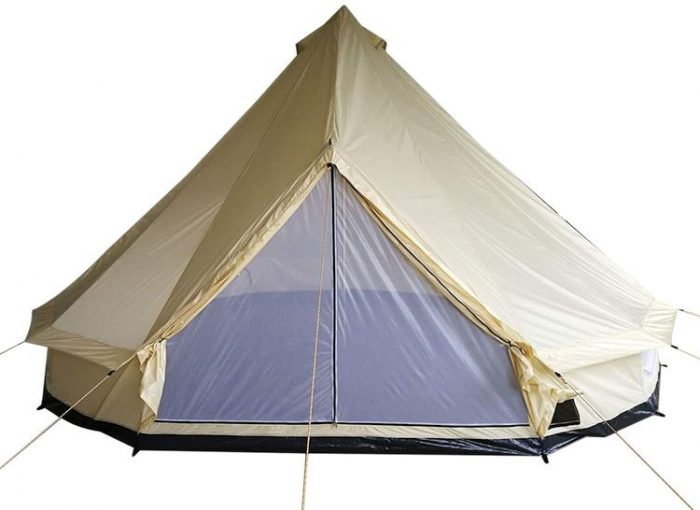 Best Bell Tent - Outsunny 16' Waterproof Four Season Canvas Yurt Bell Tent