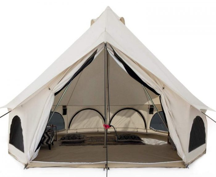 Best Bell Tent - White Duck Outdoors Premium Canvas Bell Tent