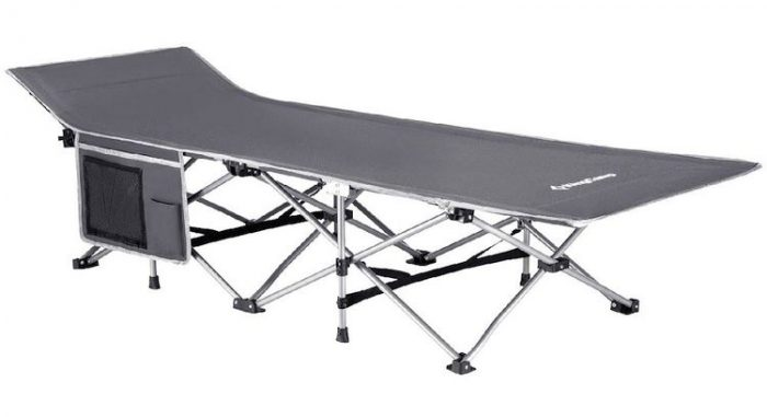 Best Camping Cots - KingCamp Strong Stable Folding Camping Bed Cot