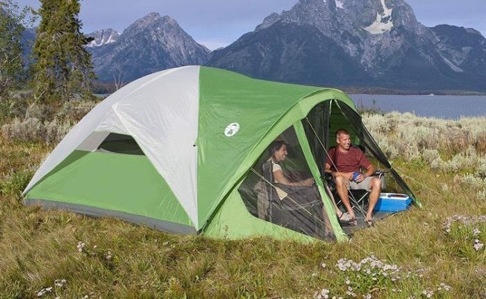Best-Camping-Tents-With-Screened-Porch-Coleman-Dome-Tent