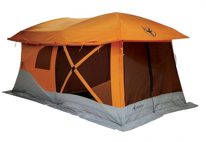 Best Camping Tents With Screened Porch - Gazelle 26800 T4-Plus Pop-Up Portable Camping Hub Tent