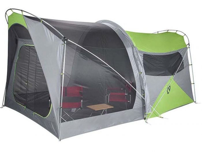 Best Camping Tents With Screened Porch - Nemo Wagontop 8P Camping Tent