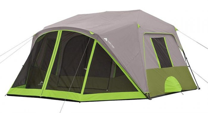 Best Camping Tents With Screened Porch - Ozark Trail 9-Person Instant Cabin Tent