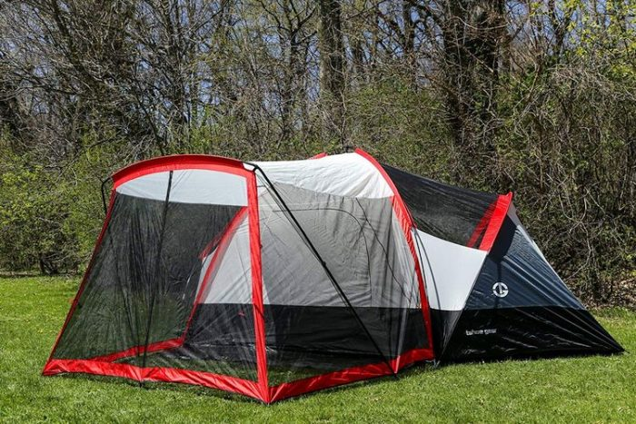 Best Camping Tents With Screened Porch - Tahoe Gear Zion
