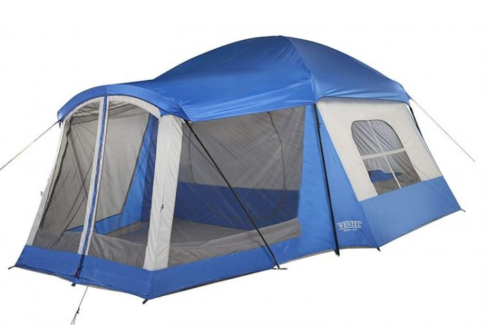 Best Camping Tents With Screened Porch - Wenzel 8 Person Klondike Tent