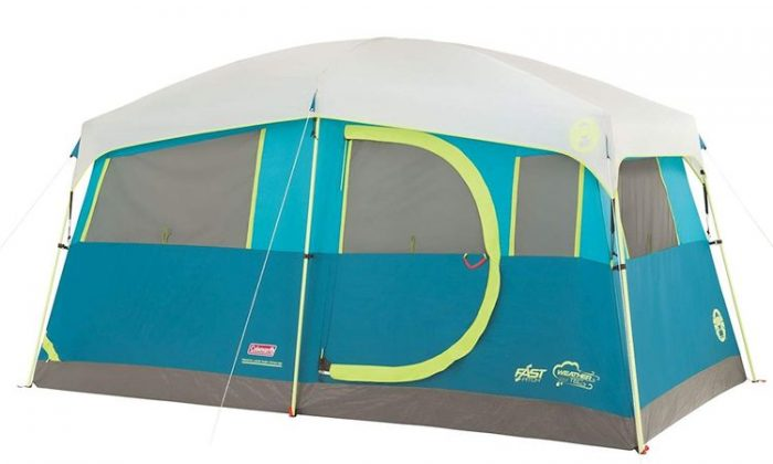 Best Family Tent - Coleman Tenaya Lake Fast Pitch Cabin Tent