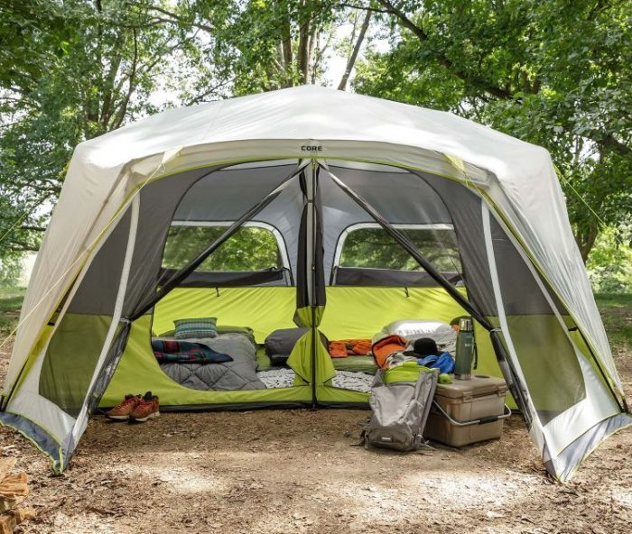 Best Pop Up Tents - CORE 10 Person Instant Cabin Tent with Screen Room