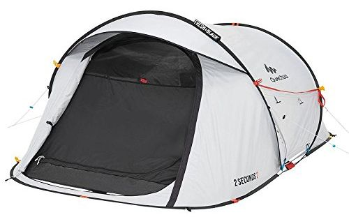Best Pop Up Tents - Quechua 2 Second Waterproof Pop Up Camping Tent