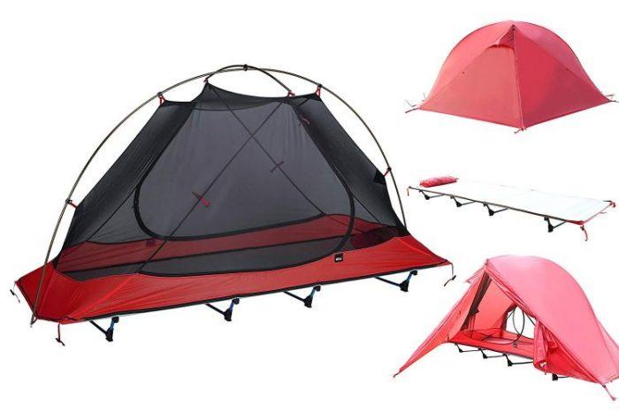 Best Tent Cot - DESERT WALKER Camping Cots