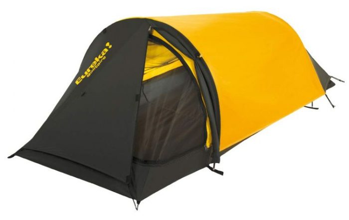 Eureka Solitaire One-Person Three-Season Backpacking Bivy Style Tent