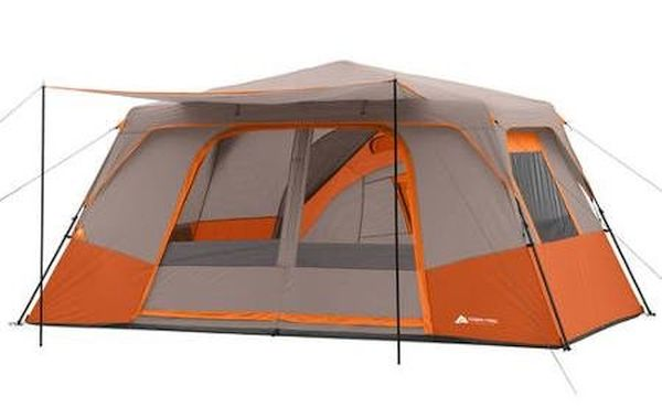 Ozark Trail 11 Person 3 Room 14' x 14' Instant Cabin Tent