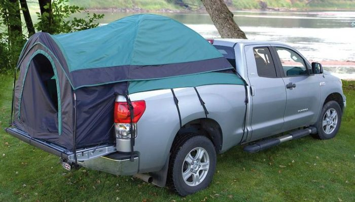 Top Truck Bed Tents - Guide Gear Full Size Truck Tent