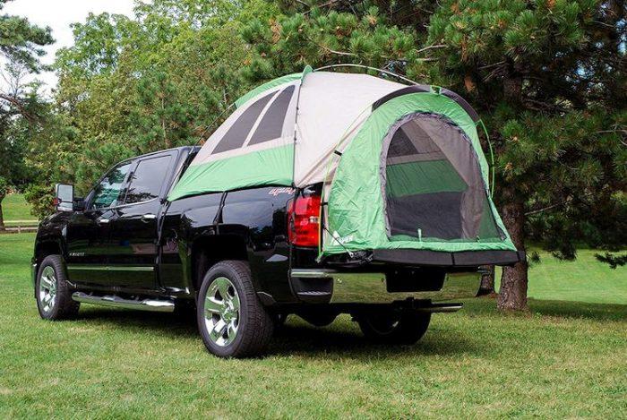 Top Truck Bed Tents - Napier Backroadz Truck Tent