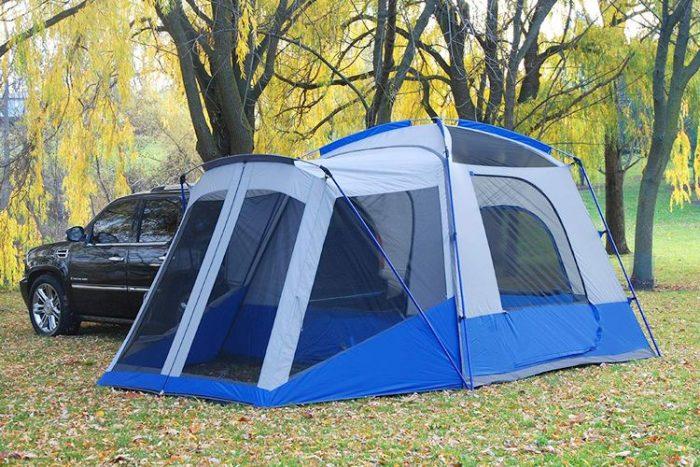 Top Truck Bed Tents - Napier Outdoors Sportz #84000 5 Person SUV Tent