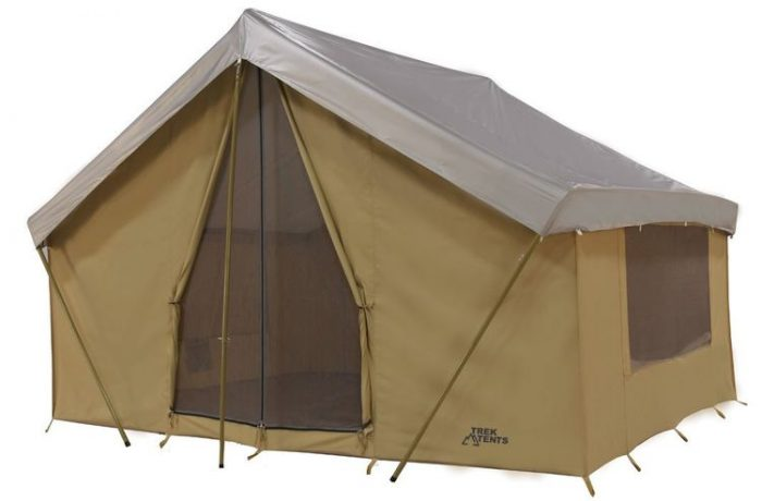 Trek Tents 246C Cotton Canvas Cabin Tent