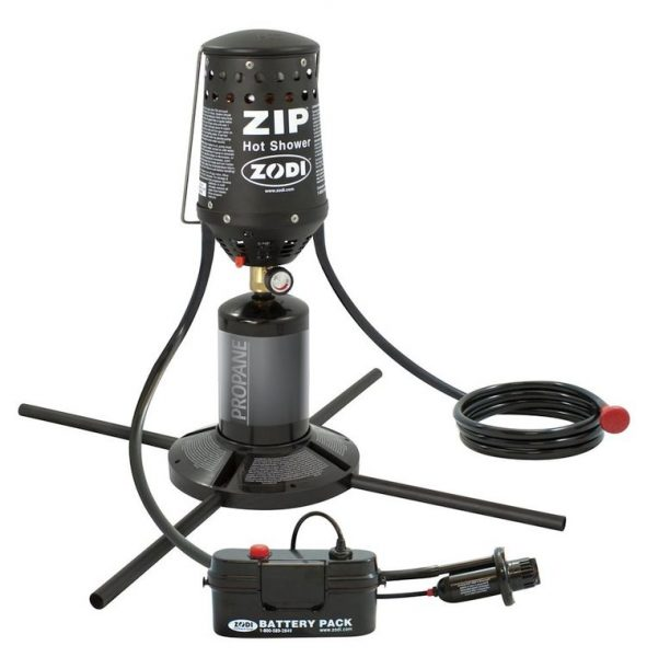 Zodi Outback Gear Zip Shower