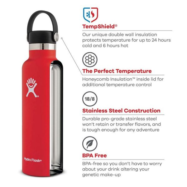 Hydro Flask Vacuum Insulated Stainless Steel Bottles