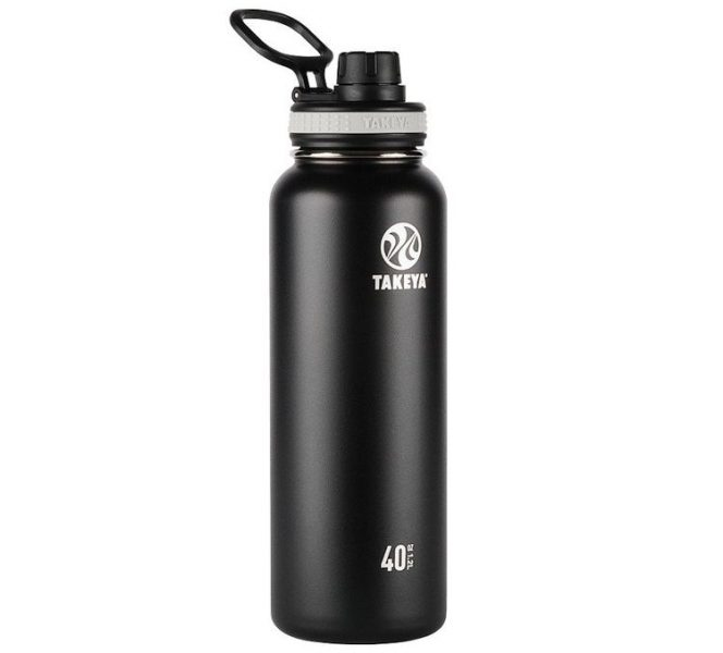 Takeya ThermoFlask 40 oz Black