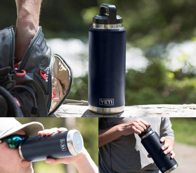 Yeti Rambler Insulated Stainless Steel Water Bottle