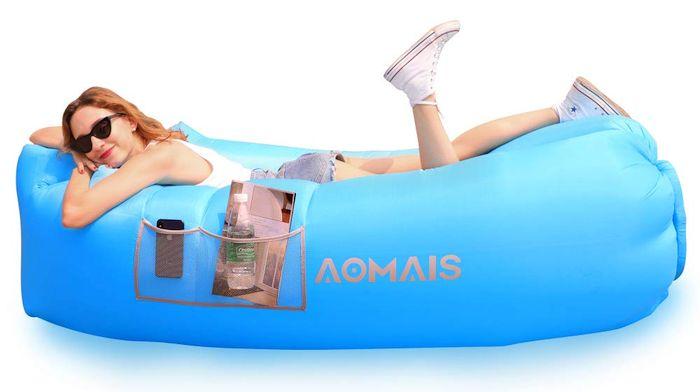 Aomais Inflatable Lounger Air Sofa Portable