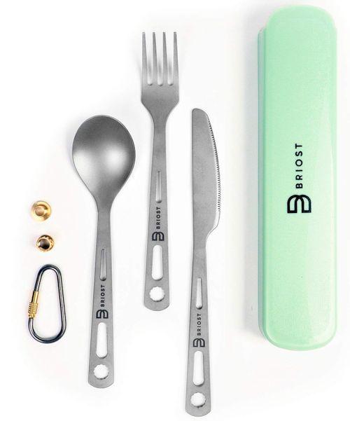 BRIOST Titanium Utility Professional Cutlery 3-piece Set