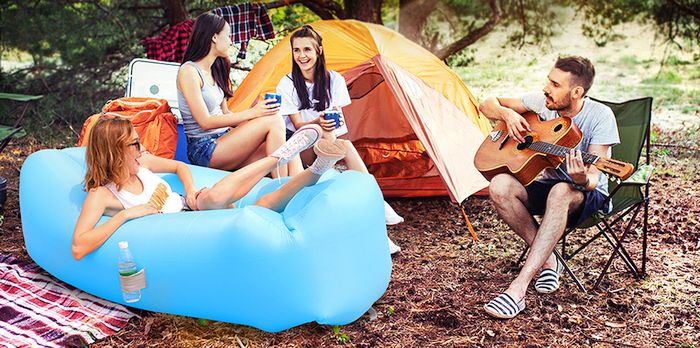 Best Inflatable Lounger Representative Image - Aomais Air Lounger