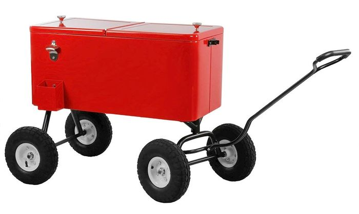 Clevr 80 Quart Party Wagon Cooler