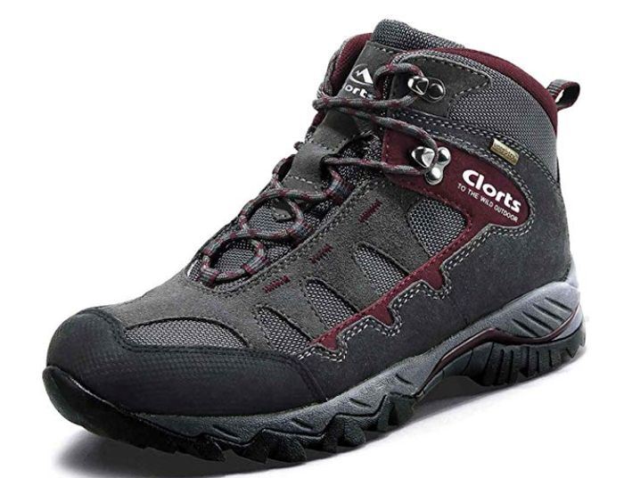 Clorts Waterproof Mens Hiking Boots