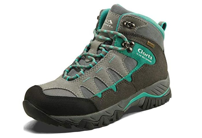 Clorts Womens Mid Waterproof Hiking Boot