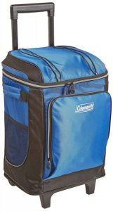 Coleman 42-Can Soft Cooler with Removable Liner and Wheels