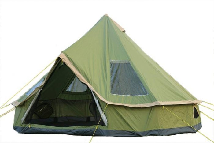 DANCHEL 13ft Light Weight Tipi Family Tent