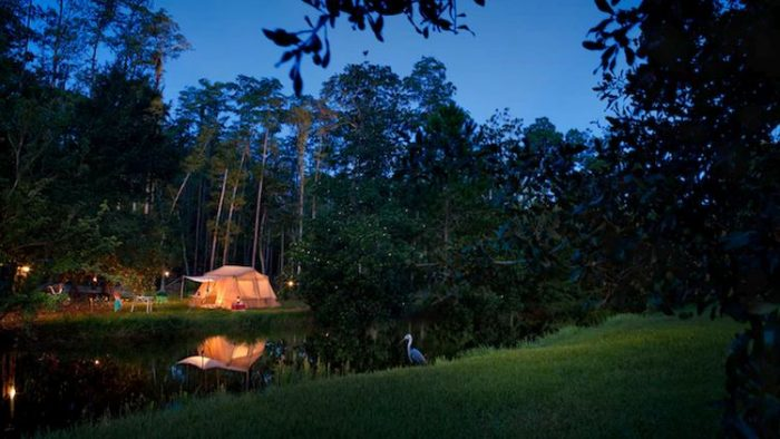 Disney Orlando Fort Wilderness Campsite