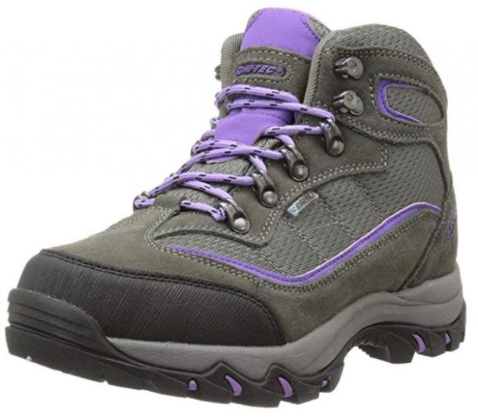 Hi-Tec Womens Skamania Mid-Rise Waterproof Hiking Boot