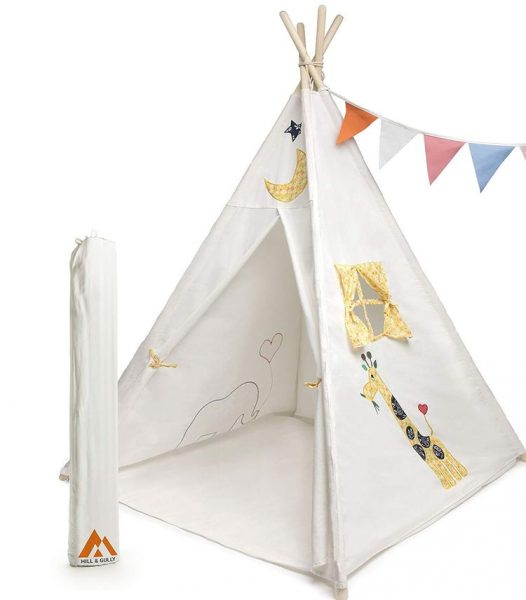 Hill and Gully Teepee Tent for Kids