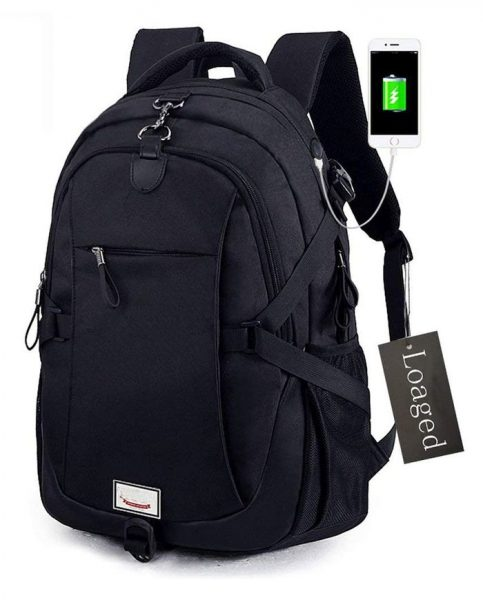 Loaged Anti-Theft Laptop Backpack