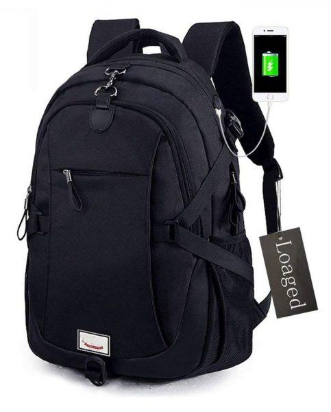 Loaged Anti-Theft Laptop Backpack