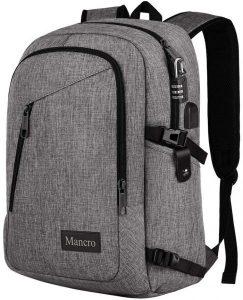 Mancro Laptop Anti-Theft Backpack