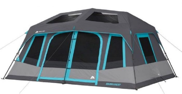 Ozark Trail Dark Rest 10-Person Instant Cabin Tent