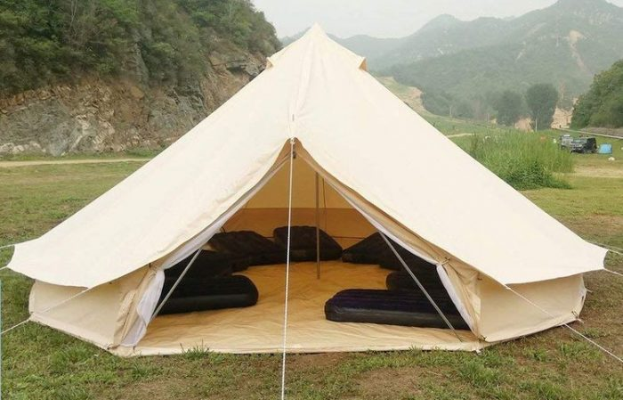 PlayDo 4-Season Waterproof Cotton Canvas Bell Tent