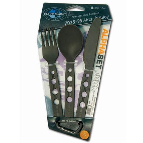 Sea to Summit Alpha Knife Fork and Spoon Set