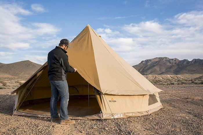 Teton Sports Sierra Canvas Tent