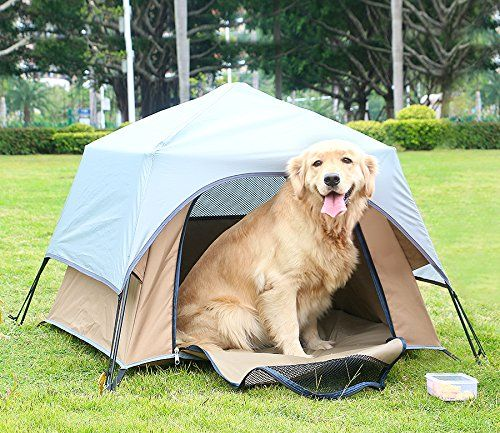 Yolafe Portable Pet Tent Cave Bed