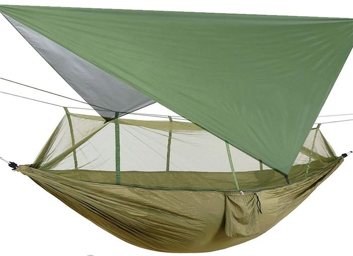 Beacon Pet Camping 2 Person Hammock with Mosquito Net