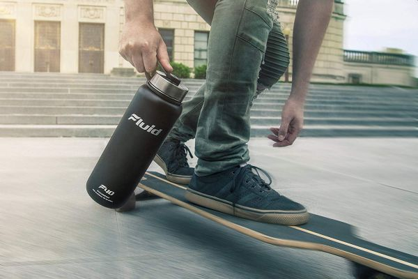 Fluid Sports Insulated Water Bottle