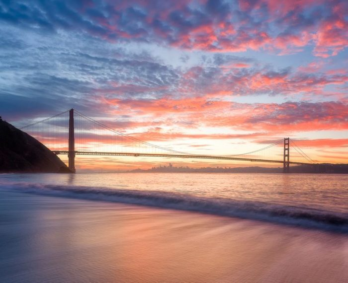 Kirby Cove Golden Gate Bridge View