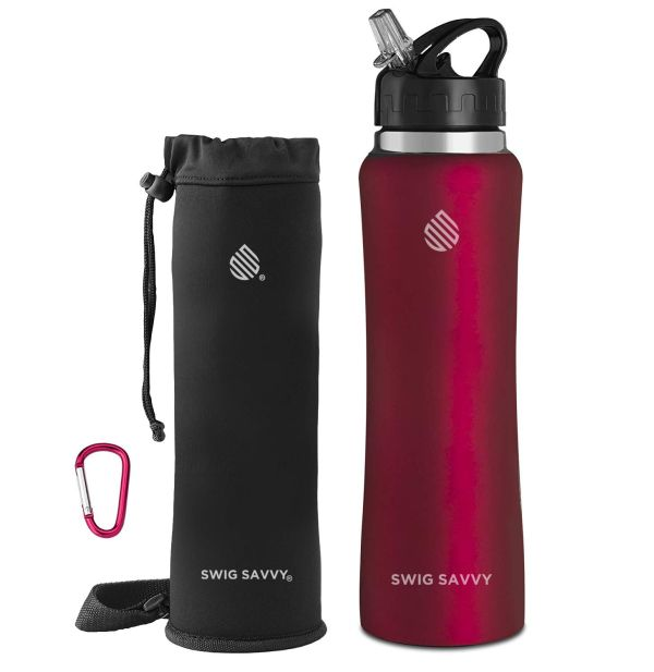 Swig Savvy Stainless Steel Water Bottle