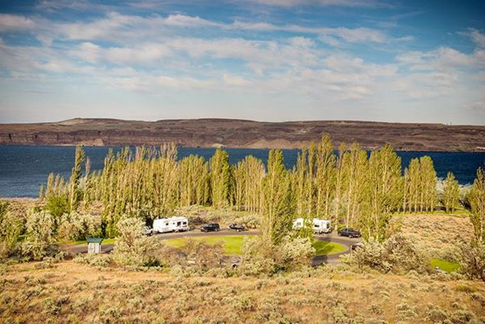 Wanapum Recreation Area Ginkgo Petrified Forest State Park